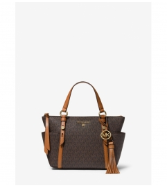 MICHAEL Michael Kors Sullivan Small Logo Top-Zip Tote Bag