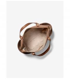 MICHAEL Michael Kors Sullivan Small Saffiano Leather Top-Zip Tote Bag