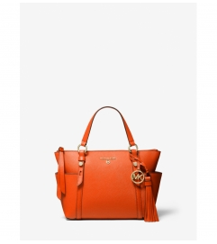 MICHAEL Michael Kors Sullivan Small Saffiano Leather Top-Zip Tote Bag
