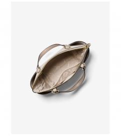 MICHAEL Michael Kors Sullivan Small Two-Tone Saffiano Leather Top-Zip Tote Bag