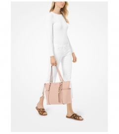 MICHAEL Michael Kors Sullivan Large Saffiano Leather Top-Zip Tote Bag