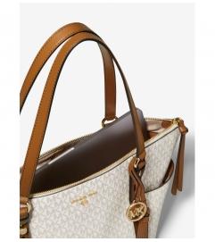 MICHAEL Michael Kors Sullivan Large Logo Top-Zip Tote Bag