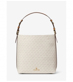 MICHAEL Michael Kors Lucy Medium Logo Shoulder Bag