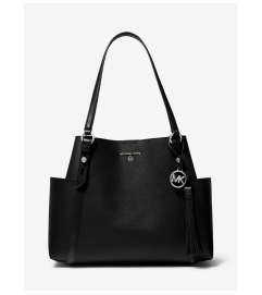 MICHAEL Michael Kors Nomad Large Saffiano Leather Tote Bag
