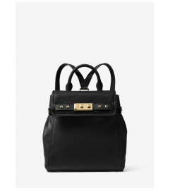 MICHAEL Michael Kors Addison Small Pebbled Leather Backpack
