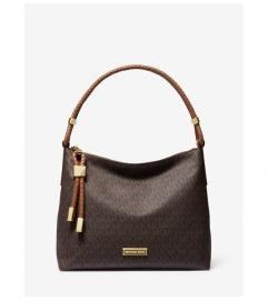 MICHAEL Michael Kors Lexington Medium Logo Shoulder Bag