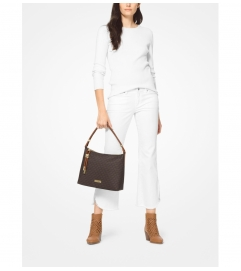 MICHAEL Michael Kors Lexington Medium Logo Shoulder Bag
