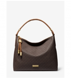 MICHAEL Michael Kors Lexington Large Logo Shoulder Bag