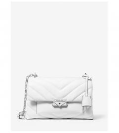 MICHAEL Michael Kors Cece Medium Leather Shoulder Bag