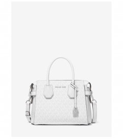 MICHAEL Michael Kors Mercer Small Logo Belted Satchel