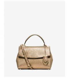 MICHAEL Michael Kors Ava Small Saffiano Leather Satchel