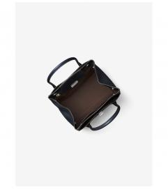 Michael Kors Collection Bancroft Medium Calf Leather Satchel