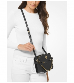 MICHAEL Michael Kors Carmen Large Saffiano Leather Crossbody Bag