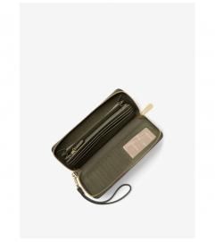 MICHAEL Michael Kors Mercer Leather Continental Wristlet