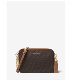 MICHAEL Michael Kors Ginny Medium Logo Crossbody