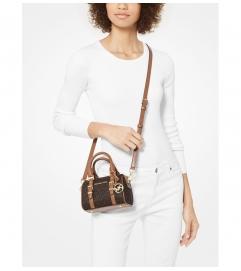 MICHAEL Michael Kors Bedford Legacy Extra-Small Logo Duffel Crossbody Bag