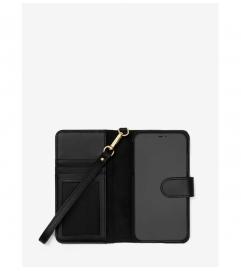 MICHAEL Michael Kors Saffiano Leather Wristlet Folio Case for iPhone XR