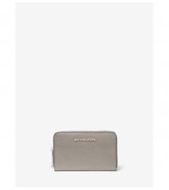 MICHAEL Medium Small Pebbled Leather Wallet