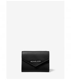 MICHAEL Michael Kors Medium Crossgrain Leather Envelope Wallet
