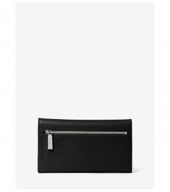 MICHAEL Michael Kors Tri-Fold Leather Wallet
