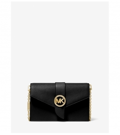 MICHAEL Michael Kors Medium Leather Convertible Crossbody Bag
