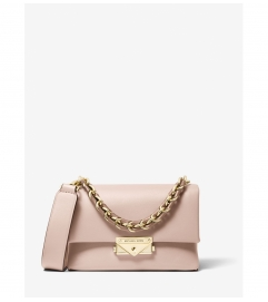 MICHAEL Michael Kors Cece Extra-Small Two-Tone Leather Crossbody Bag