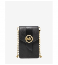 MICHAEL Michael Kors Small Saffiano Leather Smartphone Crossbody Bag