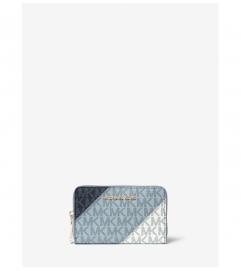 MICHAEL Michael Kors Small Color-Block Logo Wallet