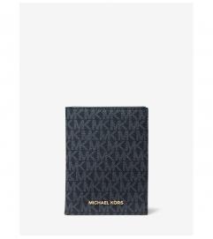 MICHAEL Michael Kors Bedford Travel Medium Logo Passport Wallet