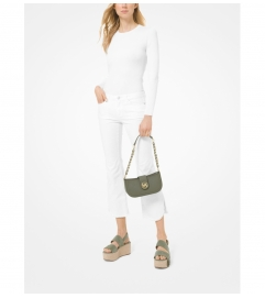 MICHAEL Michael Kors Carmen Extra-Small Saffiano Leather Shoulder Bag