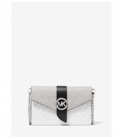 MICHAEL Michael Kors Medium Color-Block Logo Convertible Crossbody Bag