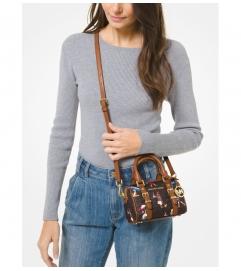 MICHAEL Michael Kors Bedford Legacy Extra-Small Jet Set Girls Duffle Crossbody Bag