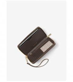 MICHAEL Michael Kors Logo Smartphone Wristlet