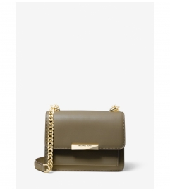 MICHAEL Michael Kors Jade Extra-Small Leather Crossbody