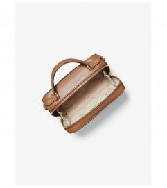 MICHAEL Michael Kors Jet Set Medium Logo and Leather Crossbody Bag