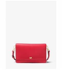 MICHAEL Michael Kors Pebbled Leather Convertible Crossbody