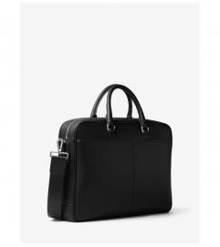 Michael Kors Mens Odin Large Leather Briefcase