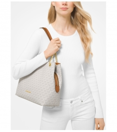 MICHAEL Michael Kors Jet Set Large Logo Chain Tote Bag