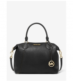 MICHAEL Michael Kors Lenox Large Pebbled Leather Shoulder Bag