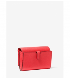 MICHAEL Michael Kors Jet Set Travel Medium Pebbled Leather Convertible Crossbody Bag