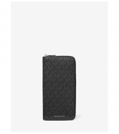 Michael Kors Mens Cooper Logo Zip-Around Wallet