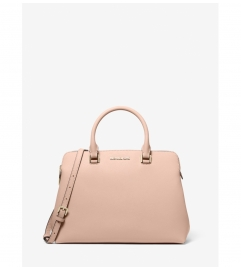 MICHAEL Michael Kors Idina Medium Leather Satchel