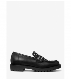 MICHAEL Michael Kors Holland Studded Leather Loafer