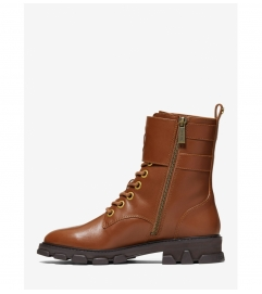 MICHAEL Michael Kors Ridley Leather Combat Boot