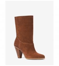 MICHAEL Michael Kors Divia Suede Ankle Boot