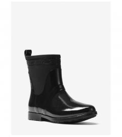 MICHAEL Michael Kors Hilda Rubber and Neoprene Rain Boot