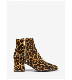 MICHAEL Michael Kors Alane Leopard Calf Hair Ankle Boot