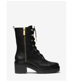 MICHAEL Michael Kors Anaka Leather Combat Boot