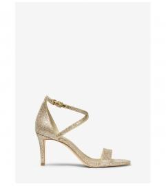 MICHAEL Michael Kors Ava Glitter Mesh Sandal