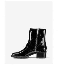 MICHAEL Michael Kors Bronwyn Patent Leather Moto Boot